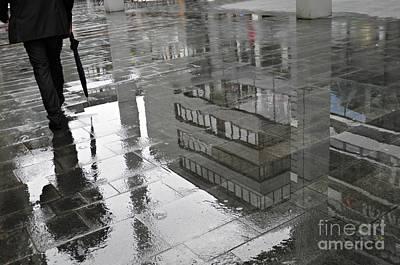Photograph - Rainy Morning In Mainz by Sarah Loft