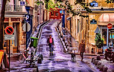 Photograph - Rainy Morning In Paris by Rick Bragan