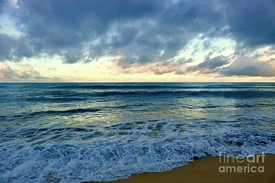 Photograph - Rainy Morning Tide by Craig Wood