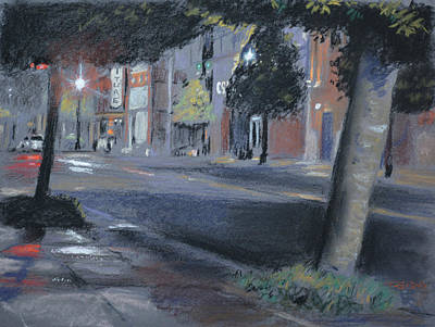 Painting - Rainy Night by Christopher Reid