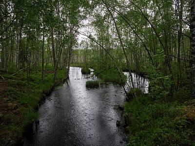 Photograph - Rainy River. Koirajoki by Jouko Lehto