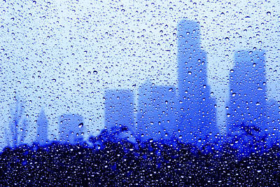 Rainy Seattle C010 Art Print by Yoshiki Nakamura