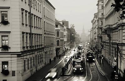 Photograph - Rainy Start Of New Day by Jenny Rainbow