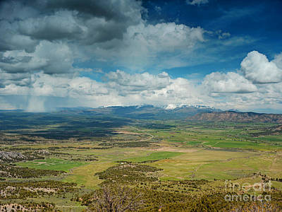 Photograph - Rainy Storm Clouds Mesa Verde National Park by Schwartz Nature Images