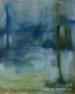 Rainy Street Original by Sarah Parsons