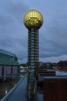 Photograph - Rainy Sunsphere by Sharon Popek
