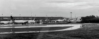 Photograph - Rainy Zurich Airport by Pixabay