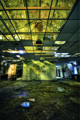 Asylum Photograph - Raise The Roof by Evelina Kremsdorf