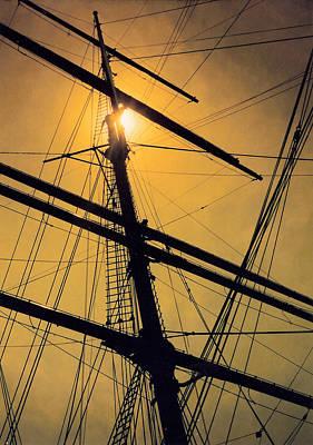 Raise The Sails Art Print by Lauri Novak