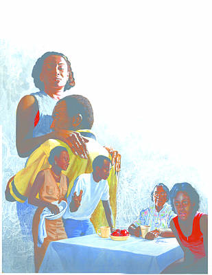 Portraits Painting - Raisin In The Sun by Harold Shull