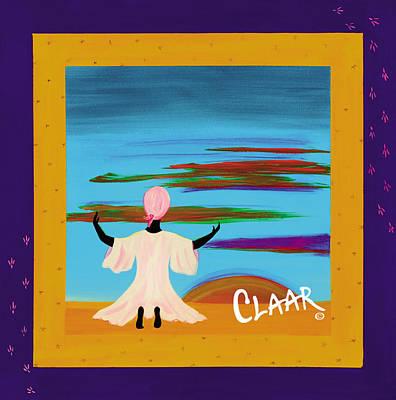 Gullah Geechee Painting - Raisin The Sun by Samantha Claar