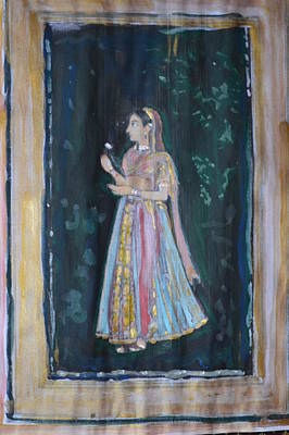 Painting - Raj Kumari by Vikram Singh