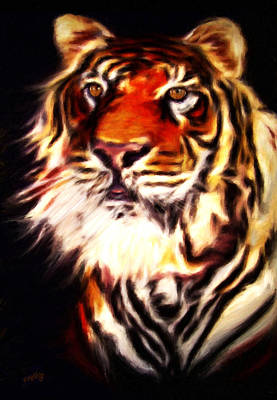 Painting - Rajah by Valerie Anne Kelly