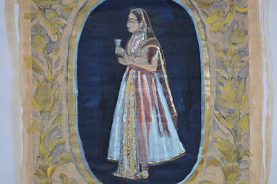 Painting - Rajasthani Queen by Vikram Singh