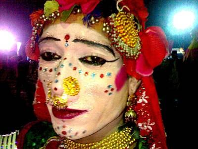Photograph - Rajhistani Folk Dancer by Fareeha Khawaja