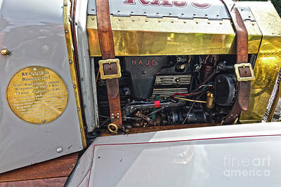 Photograph - Rajo Engine by Terri Waters