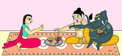 Painting - Raksha Bandhan by Pratyasha Nithin