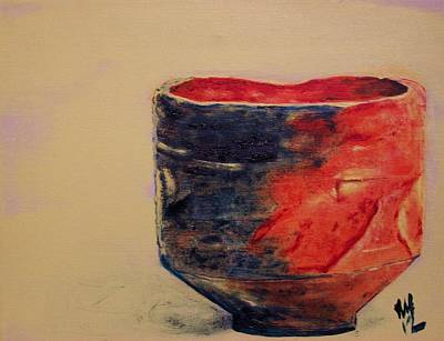 Raku Painting - Raku Ichi by Nick Young