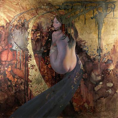 Painting - Raku by Ragen Mendenhall
