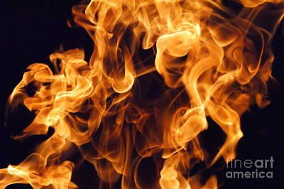 Burned Clay Photograph - Raku Uno by Jennifer  Diaz