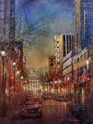 Painting - Raleigh Light by Dan Nelson