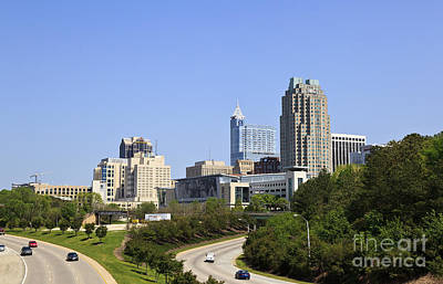 Photograph - Raleigh Skyline by Jill Lang