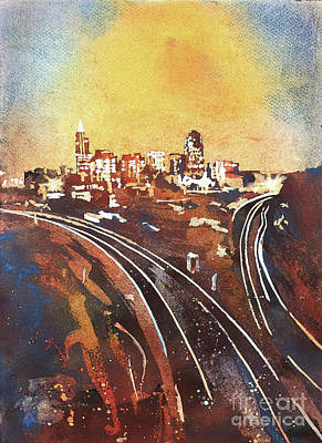 Raleigh Sunrise II Original by Ryan Fox