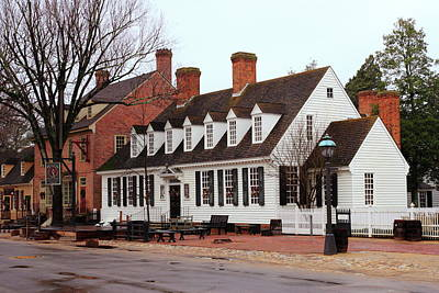 Photograph - Raleigh Tavern 2 by Lou Ford
