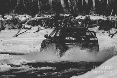 Subaru Rally Photograph - Rally Race by Alanna DPhoto