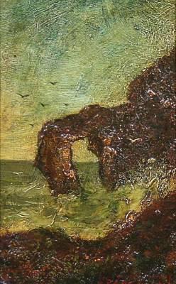 Painting - Ralph Albert Blakelock  1847  1919  Marine, Seal Rock by Artistic Panda