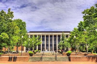 Photograph - Ralph Brown Draughon Library by JC Findley