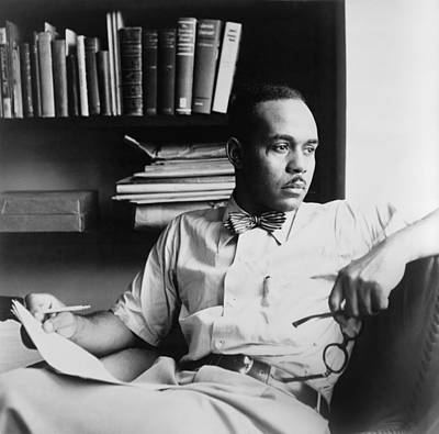Occupational Portraits Photograph - Ralph Ellison 1914-1994, Author by Everett