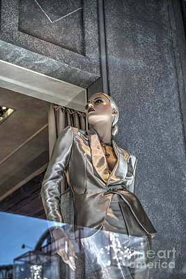 Mannequin Attitude Beverly Hills Art Print by David Zanzinger