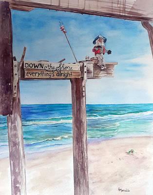Ralph, Rising Above Ocean Grove Original by Laura Mandile