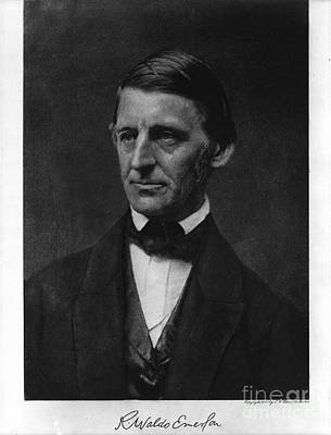 Ralph Waldo Emerson Print by Celestial Images