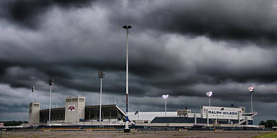 Photograph - Ralph Wilson Stadium 5803 by Guy Whiteley