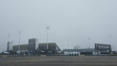 Photograph - Ralph Wilson Stadium  7k14676 by Guy Whiteley