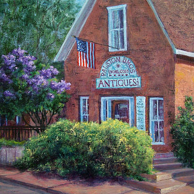 Painting - Ralston Bros. Antiques by Jill Musser