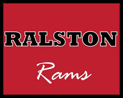 Digital Art - Ralston Rams by Brian Moore