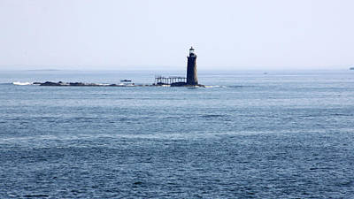 Photograph - Ram Island Ledge Lighthouse by Gerald Mitchell