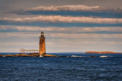 Photograph - Ram Island Ledge Lighthouse by Rick Berk