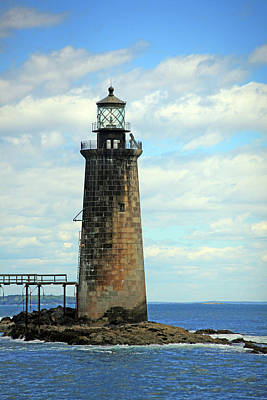 Photograph - Ram Island Light by Karol Livote