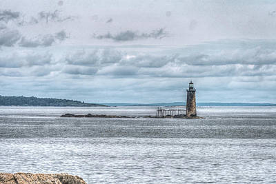 Photograph - Ram Island Lighthouse by Jane Luxton