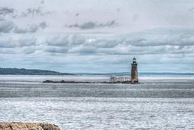 Photograph - Ram Island Lighthouse by Jane Luxton