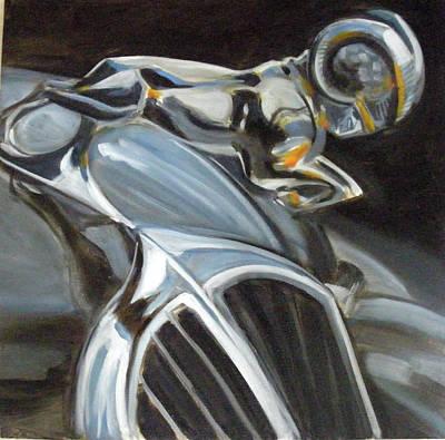Painting - Ram by Kaytee Esser