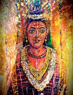Ravana Painting - Supreme Majesty by Michael African Visions