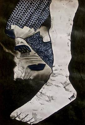 Archetype Painting - Rama by Tetka Rhu