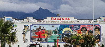Photograph - Ramada Kingman Arizona by Bonnie Follett