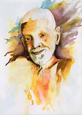 Painting - Ramana by Tony Macelli