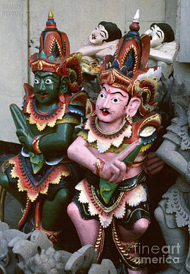 Photograph - Ramayana Figure Sculpture - Ramayana Cast by Sharon Hudson